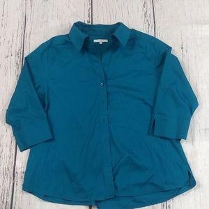 Foxcroft 3/4 sleeve Blouse